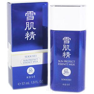 Kem chống nắng Kose Sekkisei Sun Protect Essence Milk SPF50+ PA++++