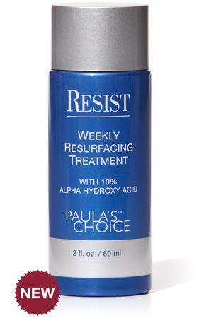 Paulas Choice Resist Weekly Resurfacing Treatment