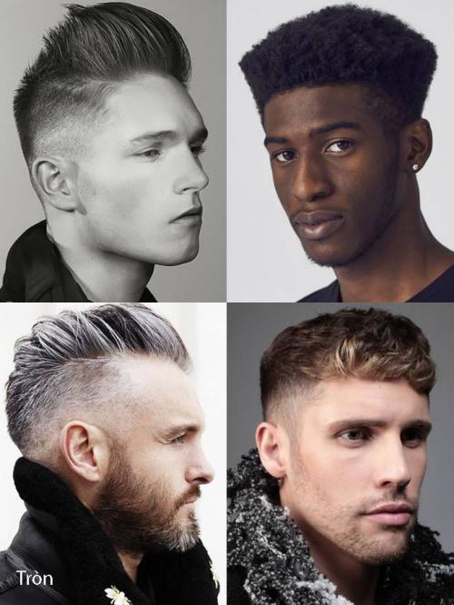 Các kiểu tóc phù hợp khuôn mặt tròn
