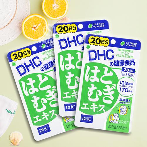 Viên uống DHC trắng da: Cải thiện sắc tố da, cho da tươi sáng, mịn màng